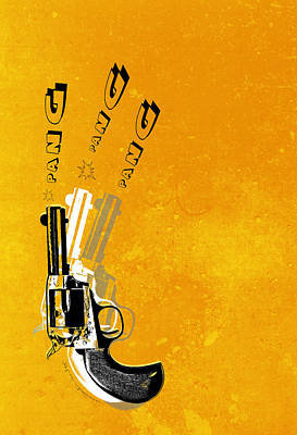 Gun 16 Print by Mark Ashkenazi