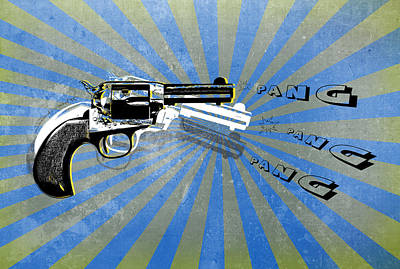Gun 17 Print by Mark Ashkenazi