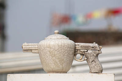 Gun Pot Original by Ashim Halder