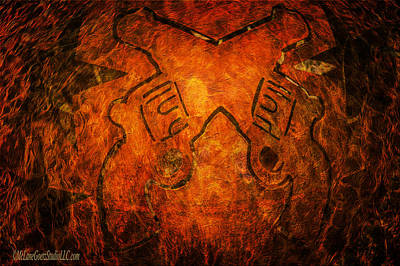 Guns A Blazing Print by LeeAnn McLaneGoetz McLaneGoetzStudioLLCcom