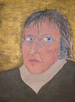 Dialectics Painting - G.w.f. Hegel by Rob Spencer
