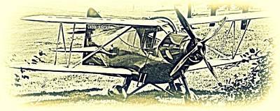 Gwinn Aircar 4 Place Print by Hank  Clark