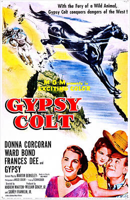 Gypsy Colt, Us Poster Art, From Left Print by Everett
