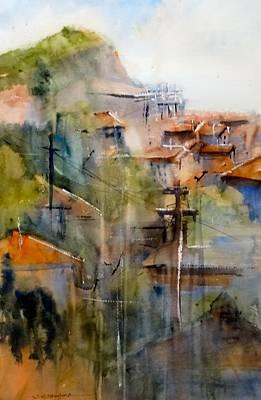 Gypsy Dawn Balchik Bulgaria Original by Sandra Strohschein