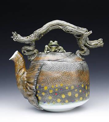 Ceramic Art - Hada Viii by Mark Chuck