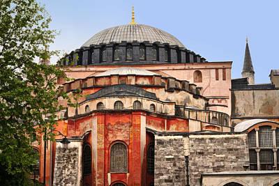 Hagia Sophia Print by Lutz Baar