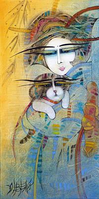 Painting - Haiku by Albena Vatcheva