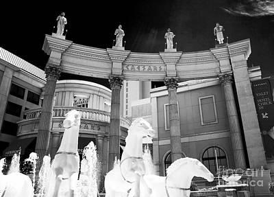 Hail Caesars Print by John Rizzuto