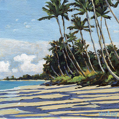 Haleiwa Painting - Halama Street by Stacy Vosberg