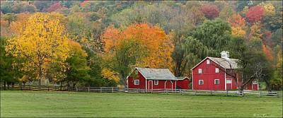 Landscape Photograph - Hale Farm And Village by Daniel Behm