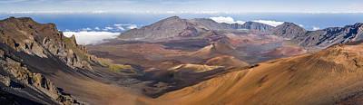 Haleakala Crater Hawaii Print by Francesco Emanuele Carucci