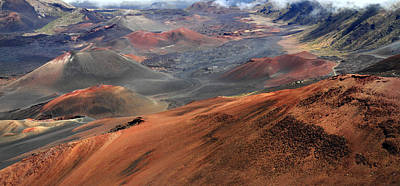 Haleakala Crater Print by Pierre Leclerc Photography
