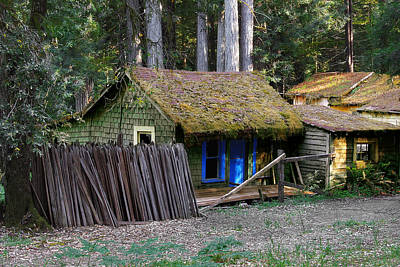 Huts Photograph - Hales Grove Ca by Christine Till
