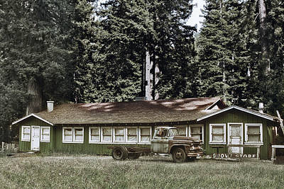 Old Truck Photograph - Hales Grove Ca Trapped In The Past by Christine Till