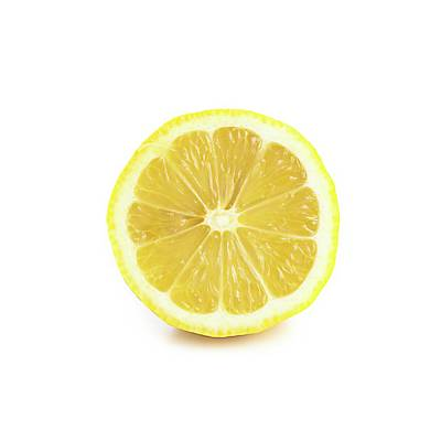 Healthy Eating Photograph - Half A Lemon by Science Photo Library