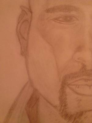 Explore Drawing - Half Aman by Erica  Darknell