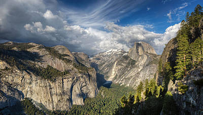 Chris Martin Photograph - Half Dome From Four Mile by Chris Martin