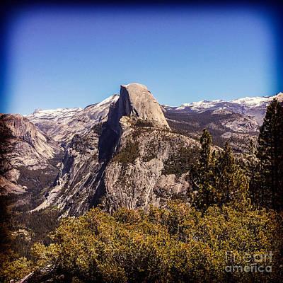 Half Dome Photograph - Half Dome Yosemite Nationa Park by Colin and Linda McKie