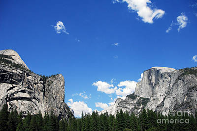 Yosemite National Park Photograph - Half Dome - Yosemite National Park by Laraine  C Photography