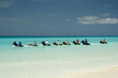 Tropical Climate Photograph - Half Moon Cay Bahamas Beach Scene by David Smith