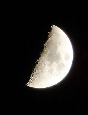 Half Moon Print by Ron Roberts