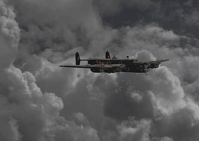 Halifax - Ww2 Heavy Bomber Print by Pat Speirs