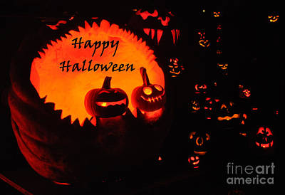 Special Occasion Photograph - Halloween Card No. 1 by Luke Moore