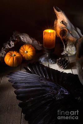 Halloween Is Coming Print by Ann Garrett