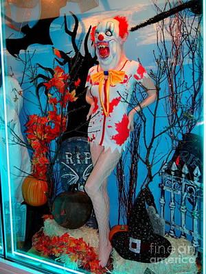 R.i.p Photograph - Halloween Window by Ed Weidman