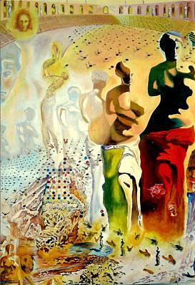 Halucinogenic Toreador By Salvador Dali Print by Henryk Gorecki