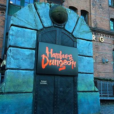 Dungeon Photograph - Hamburg Dungeon Was Built In 2000, Is A by Octav Studio