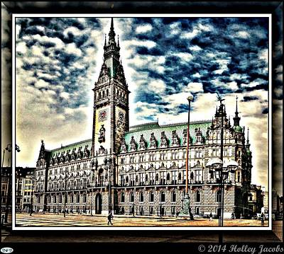 Hamburg Digital Art - Hamburg by Holley Jacobs