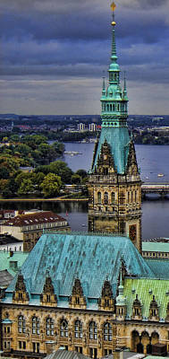 Hamburg - The Gargoyle's View Print by Lee Dos Santos
