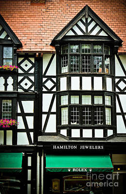 Window Signs Photograph - Hamilton Jewelers - Princeton  by Colleen Kammerer