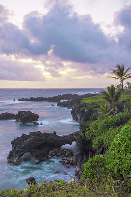 Hana Arches Sunrise 3 - Maui Hawaii Print by Brian Harig
