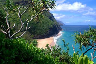 Kauai Photograph - Hanakapiai Beach by Brian Harig