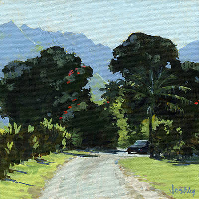 Haleiwa Painting - Hanalei by Stacy Vosberg