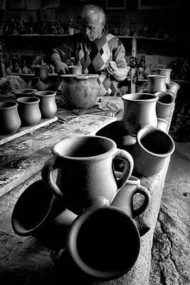 Crock Photograph - Handiwork by Okan YILMAZ
