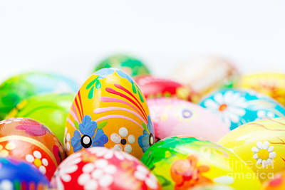 Copy Photograph - Handmade Easter Eggs Collection by Michal Bednarek