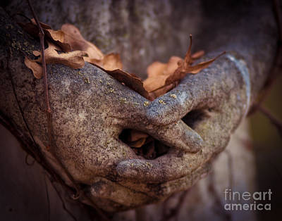 Hands Of Grief Print by Sonja Quintero