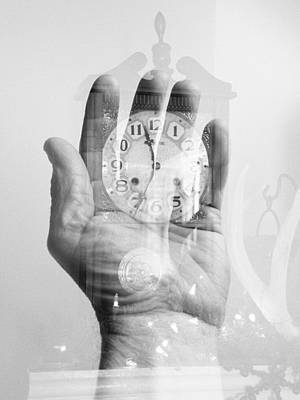 Hands Of Time Print by Tom Druin