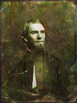 Handsome Fellow 2 Print by James W Johnson