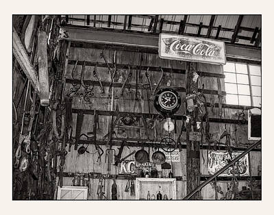 Oldzero Photograph - Hang Up Your Tools  by Steve Benefiel