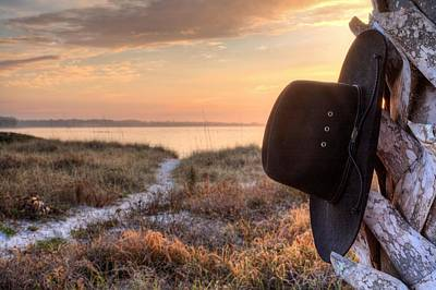 Cowboy Hat Photograph - Hang Your Hat In Pensacola by JC Findley