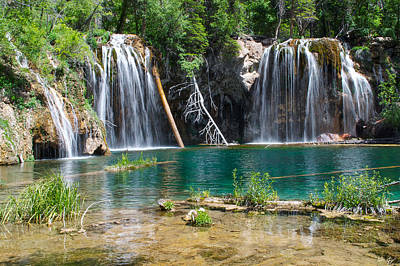 Hanging Lake - Colorado Print by Aaron Spong