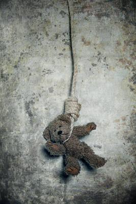 Teddybear Photograph - Hanging On The Gallows by Joana Kruse