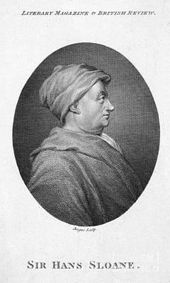 Hans Sloane (1660-1753) Print by Granger