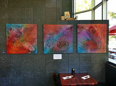 The Universe Mixed Media - Hapa Sushi Cherry Creek 1 by Angelina Vick