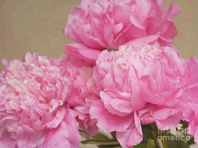 Paeony Photograph - Happiness In Pink Silk by Irina Wardas