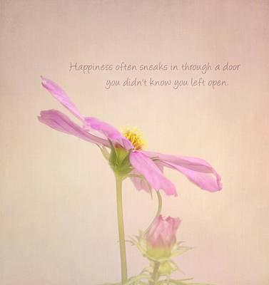 Garden Flowers Photograph - Happiness by Kim Hojnacki